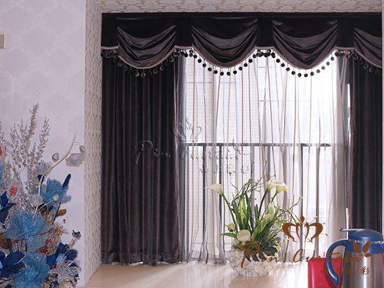 武汉品上家彩现代简约风格窗帘案例