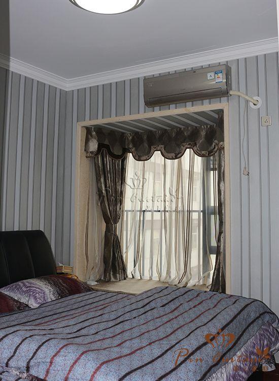 武汉品上家彩窗帘安装效果图欣赏