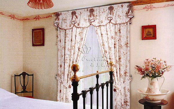 武汉欧式家装与窗帘的搭配图片