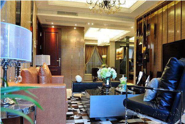 武汉现代港式风格窗帘案例欣赏