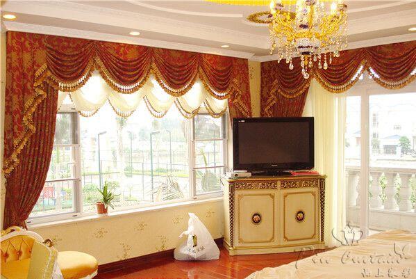 窗帘,是家中一道流动的风景线!
