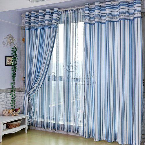 地中海风格窗帘效果图让您打造浪漫美家