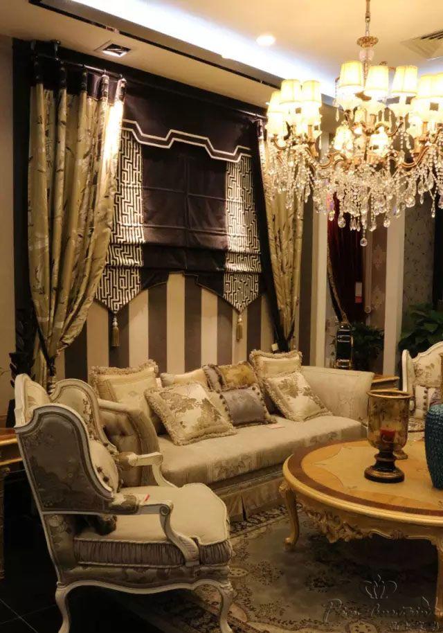 新古典风格卧室窗帘打造贵族气息