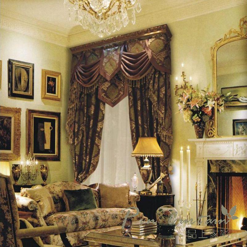 传统古典欧式窗帘