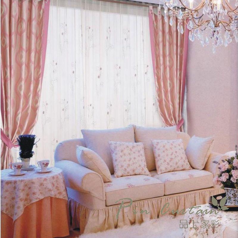 韩式小清新窗帘